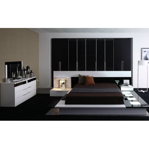 High Quality Sabra Platform 3 Piece Bedroom Set