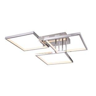 Orren Ellis Dement LED Flush Mount