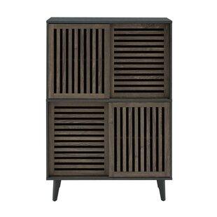 Best Price Brodbeck 4 Door Accent Cabinet ByGeorge Oliver