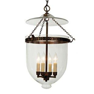 Alcott Hill Yessenia 4-Light Urn Pendant
