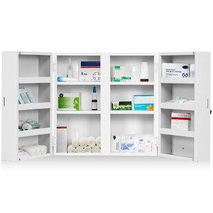 20cm X 53cm Surface Mount Medicine Cabinet By Symple Stuff