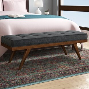 Harbin Upholstered Bench by George Oliver Read Reviews