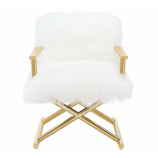 Angelika Sheepskin Armchair by Willa Arlo Interiors