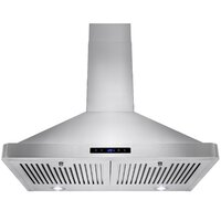 Deals on AKDY 30-Inch 343 CFM Convertible Wall Mount Range Hood