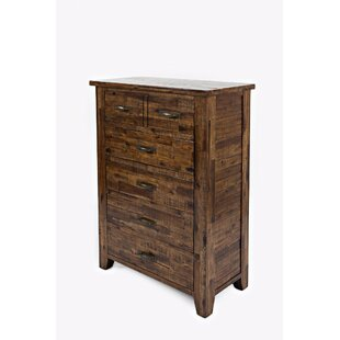 Loon Peak Reddin 5 Drawer Chest