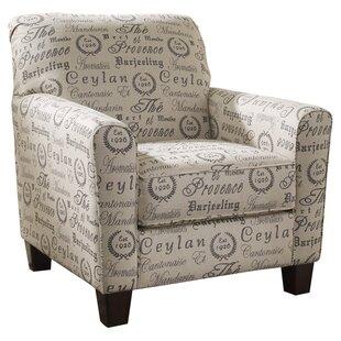 Andover Mills Deerpark Linen Armchair