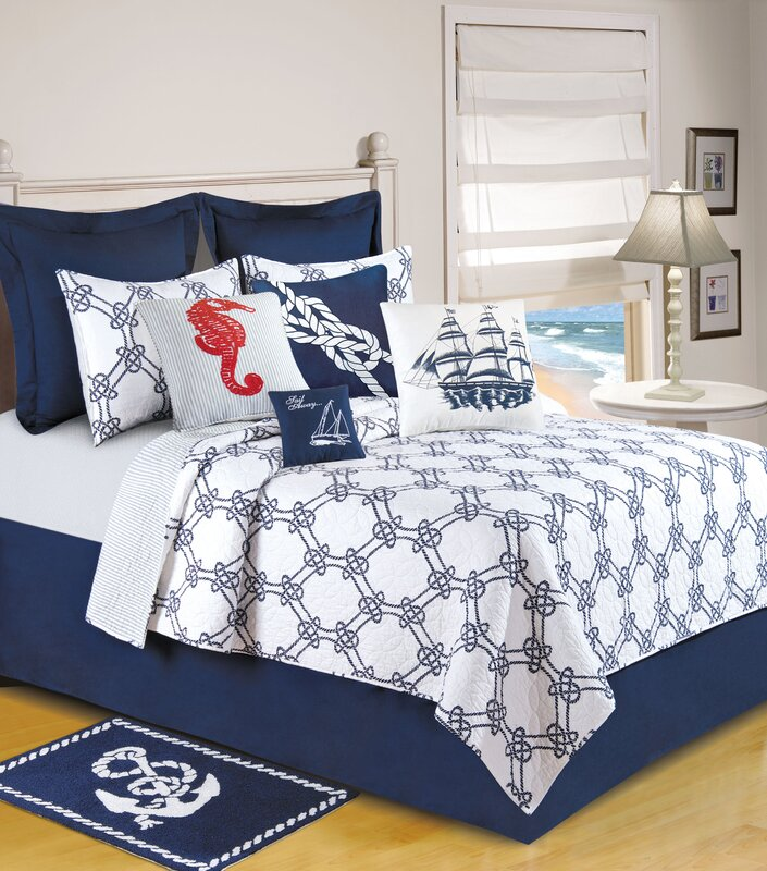 Knotty Buoy Quilt Collection from Wayfair!