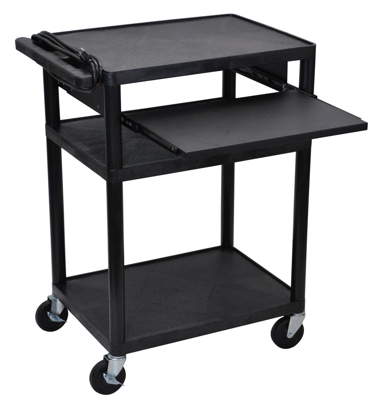 Offex Endura 4 Shelf Av Cart Wayfair