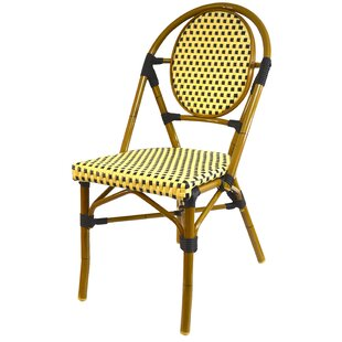 French Stacking Patio Dining Chair (Set of 6)
