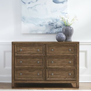 Milford 6 Drawer Double Dresser