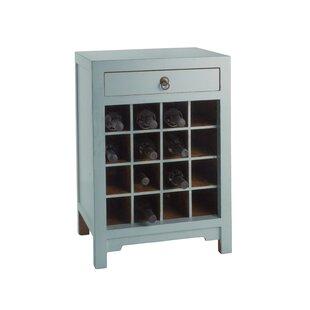 16 Bottle Floor Wine Cabinet by Antique Revival