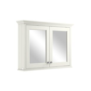 105cm X 75.2cm Surface Mount Mirror Cabinet By Bayswater Bathrooms