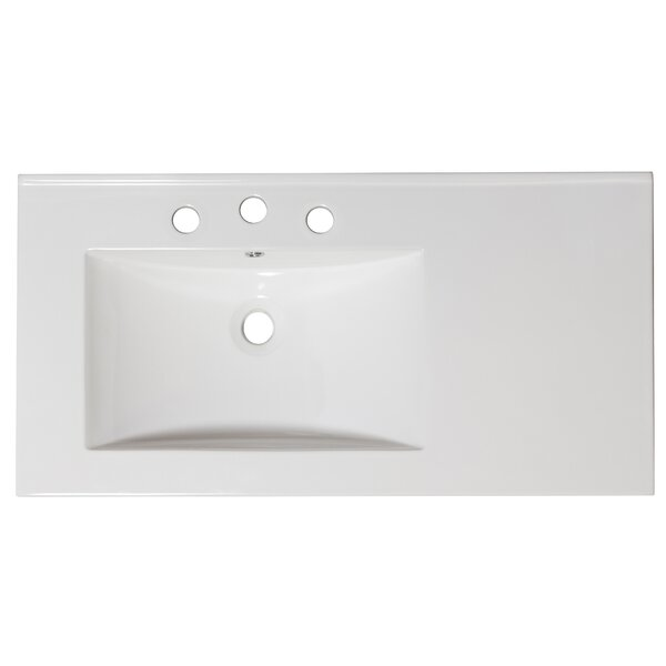 Glacier Bay Bannister 36 In W Bathroom Vanity White With