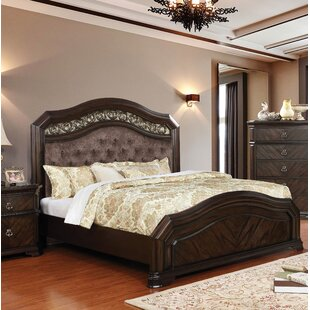 Astoria Grand Rudisill Upholstered Panel Bed