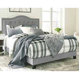 Shop For Hedgepeth Upholstered Panel Bed by Charlton Home Reviews (2019) & Buyer's Guide