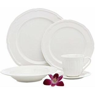 French Riviera Premium 40 Piece Dinnerware Set Service for 8  sc 1 st  Birch Lane & Dinnerware Sets u0026 Place Settings | Birch Lane