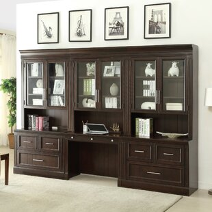 Bissette 3 Piece Office Set with Hutch