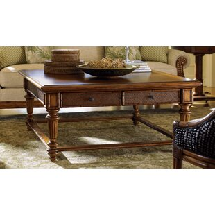 Island Estate Coffee Table with Storage by Tommy Bahama Home