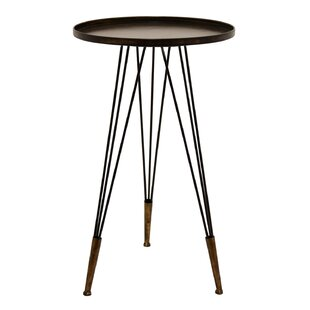 Gaskill Metal Tray Table by Ivy Bronx
