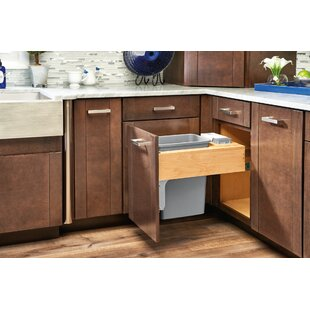 Top Mount 8.75 Gallon Pull Out/Under Counter Pull Out/Under Counter Trash Can by Rev-A-Shelf