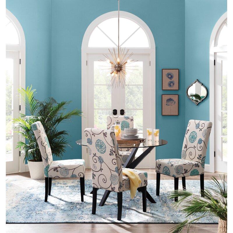 Trent Austin Design Montross Abstract Blue Area Rug Reviews