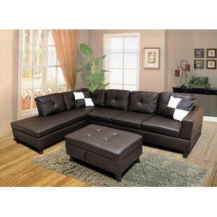 Roughton Modular Sectional with Ottoman by Winston Porter