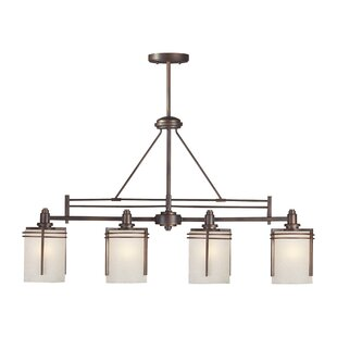 Sexton 4-Light Kitchen Island Pendant by World Menagerie