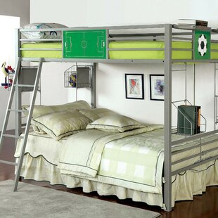 Fella Full over Full Bunk Bed with Basket