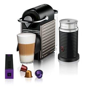 Breville Nespresso Pixie Bundle Pod Espresso Machine
