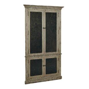 Corner 4 Door Accent Cabinet
