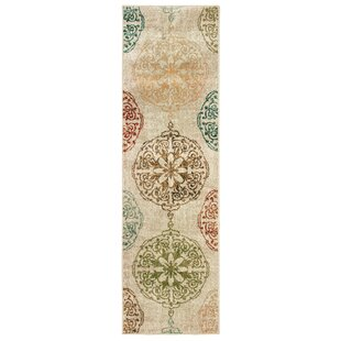 Hedberg Medallions Ivory Indoor/Outdoor Area Rug