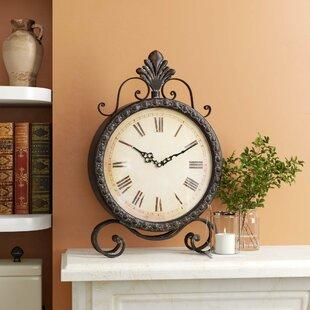 Genial Metal Table Clock