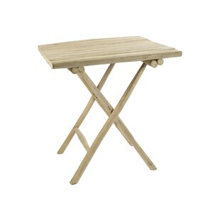 Oneridge Folding Teak Bistro Table By Bay Isle Home