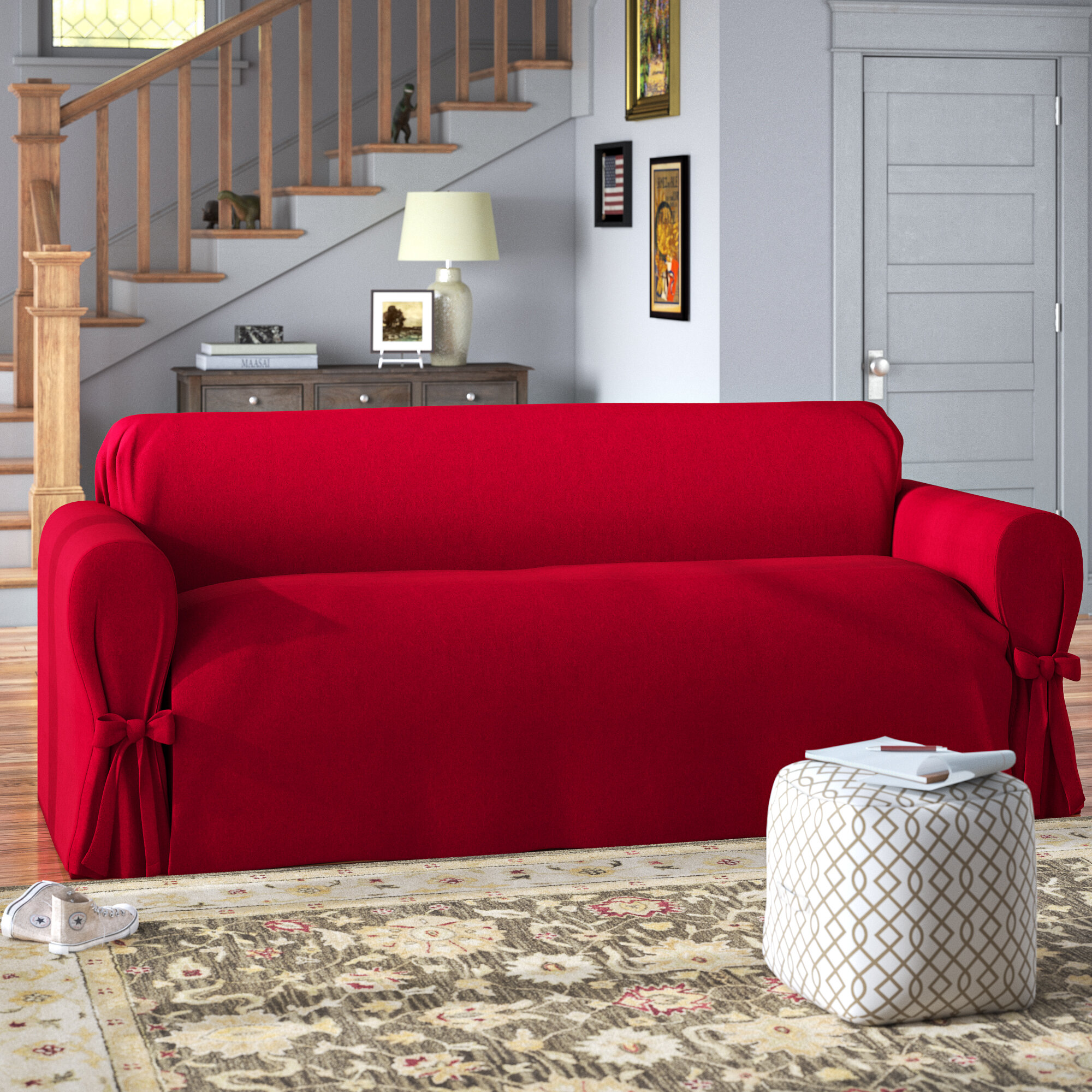 Unmade Small Couch