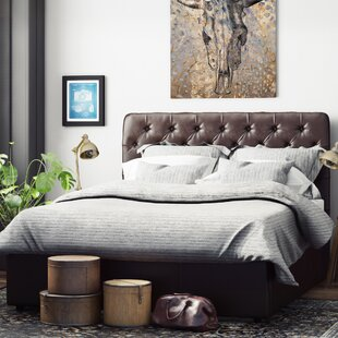 Upholstered Ottoman Bed Frame By Canora Grey