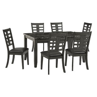 Kuebler 7 Piece Dining Set by Alcott Hill
