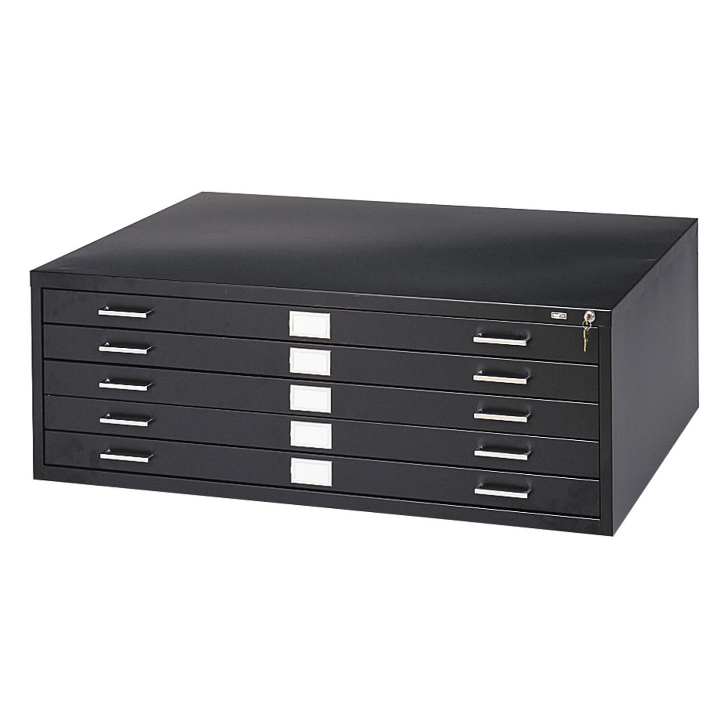 Beau Safco Products Five Drawer Flat File Filing Cabinet | Wayfair