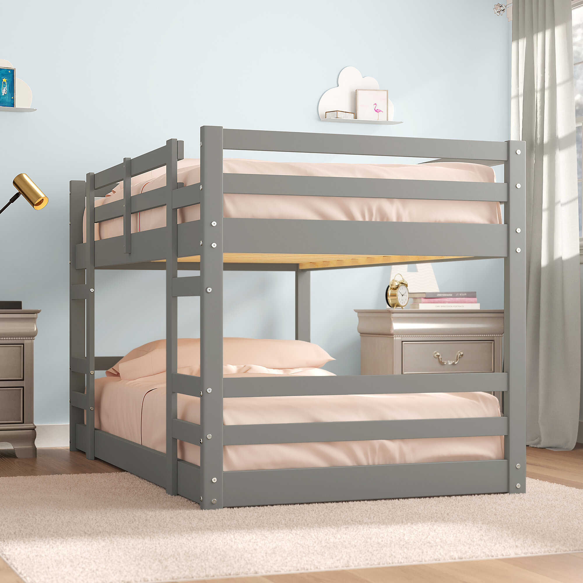 Picture of: Harriet Bee Kemah Twin Bunk Bed Reviews