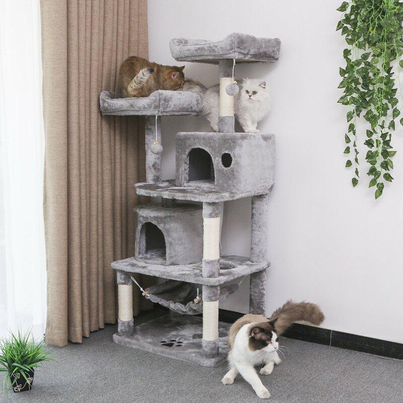 Tucker Murphy Pet Multi-Level Cat Tree Condo Furniture Kitten