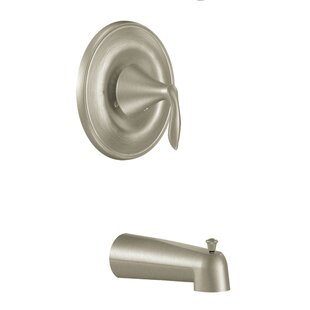 Compare Eva Pressure Balance Tub and Shower Faucet Trim with Lever Handle and Posi-Temp ByMoen