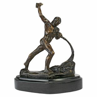 Strength Of Man Cast Statue by Design Toscano