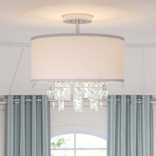 Filton 3-Light Semi Flush Mount by Everly Quinn