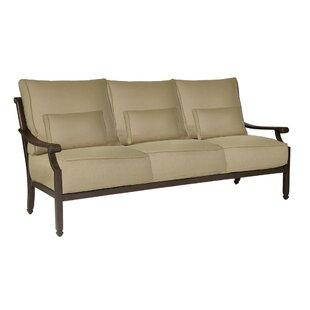Leona Grand Regent Patio Sofa with Cushions