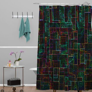 Jacqueline Maldonado Matrix Single Shower Curtain