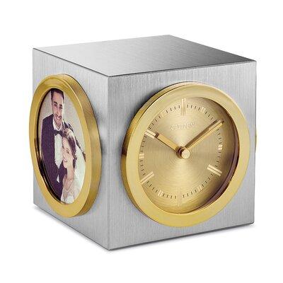Bulova grand prix mantel clock