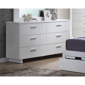 Branchville 6 Drawer Double Dresser by A&J Homes Studio