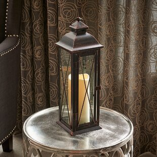 Best Reviews Siena Metal Lantern By Smart Living