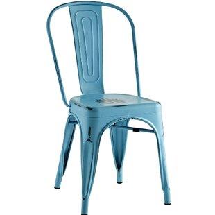 Charmant Turquoise Side Chair | Wayfair