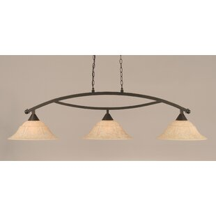 Blankenship 3-Light 150W Billiard Light by Fleur De Lis Living