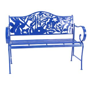 Ginter Iron Garden Bench by Bungalow Rose
